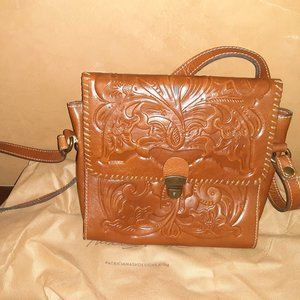 Patricia Nash Tooled Leather Crossbody